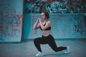 walking lounges træning med kropsvægt